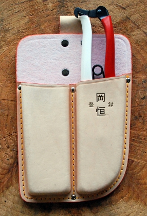 Product image Double leather holster Okatsune 109: for pruner and saw