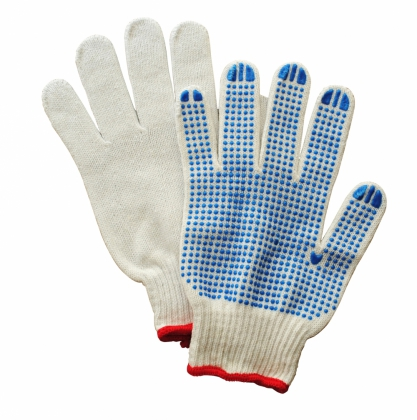 Product image Japanese cotton work gloves with anti slip