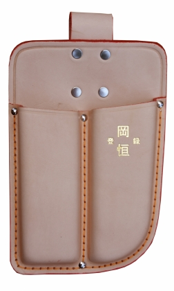 Product image Double leather holster Okatsune 109: for pruner and snips